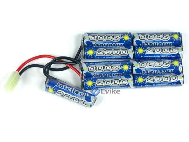 z Intellect 10.8V 2000mAh NiMH Custom Airsoft Battery Pack