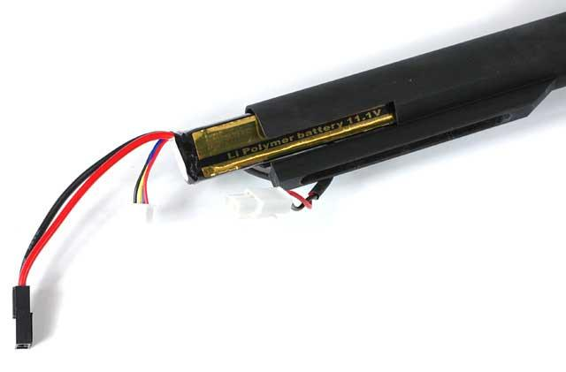 FireFox 11.1V 1250mah High Performance Stick Type Li-Poly Battery (Battery Only)