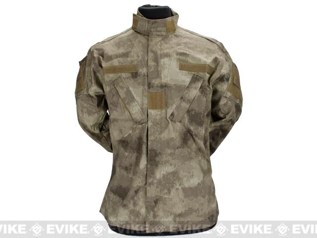 Arid Camo R6 Field BDU Battle Uniform Set by TMC / Emerson (Size: Large)