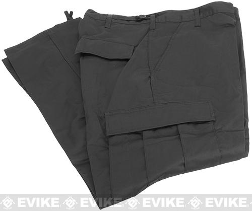 B.D.U. Pants 65/35 - Black (Size: X-Large)