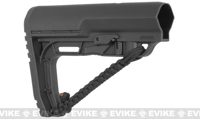 Mission First Tactical Battlelink Minimalist Stock w/ NRAT for M4 Series AEG - Black
