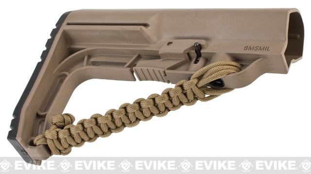 Mission First Tactical NRAT Lanyard for Battlelink Minimalist M4 Series AEG Stock - Scorched Dark Earth