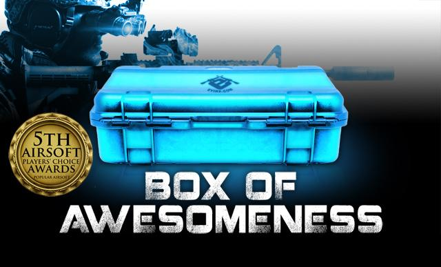The Box of Awesomeness (Edition: Airsoftcon Online Fan Appreciation Monster Box)