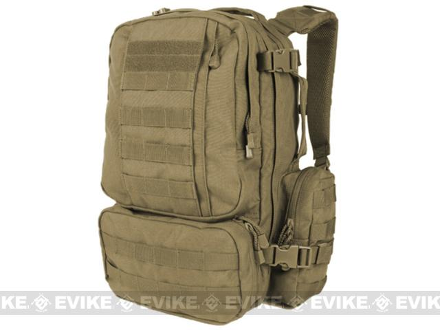 Condor Convoy Tactical Outdoor Pack - Black