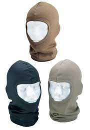 Matrix Polypropylene Tactical Balaclava / Head Wear - (Black)