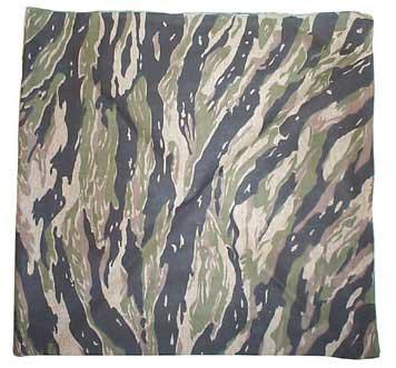 Military Tactical Bandana - Tiger Stripe Bandana.