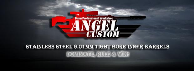 Angel Custom G2 SUS304 Stainless Steel Precision 6.01mm Airsoft AEG Tightbore Inner Barrel (Length: 370mm)