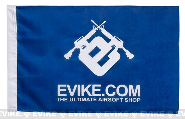 Evike.com Airsoft IFF Field Flag Banner (Color: Blue)