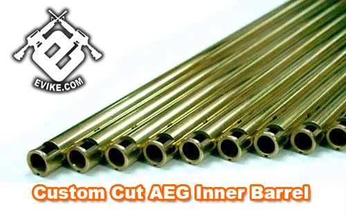 - Custom Cut Tight Bore Airsoft AEG Inner Barrel - 100mm ~ 510mm / 6.04mm