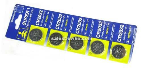 CR2032 3V Micro Lithium Battery (5 pcs)