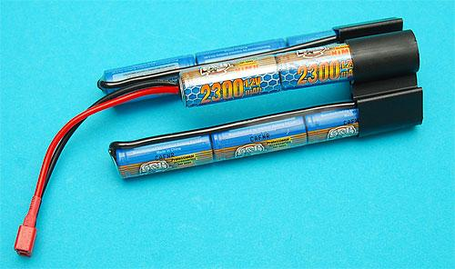 G&P Intellect High Output 9.6 V 2300mAh NiMh RC Crane Stock Battery w/ Standard Dean Plug