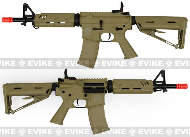 z Valken Battle Machine M4 Mod-EC Airsoft AEG Rifle - Desert