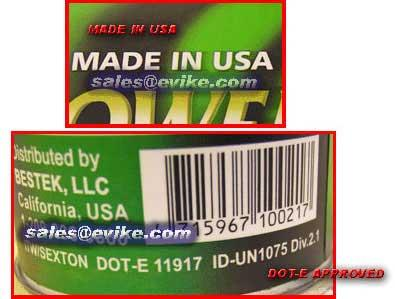 Airsoft G-1000 Power Green Gas (QTY: 1 cans)