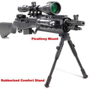 UTG Shadow Op High Power Type 96 Maruzen System Airsoft Sniper Rifle - ACU (Package: Add 3-9x40 Scope + Bipod)