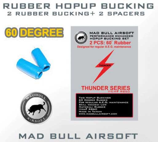 Mad Bull 60 Degree Normal Shark Bucking x2.