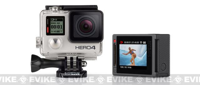 GoPro HD HERO4 Professional Wearable HD Camera - Silver Edition