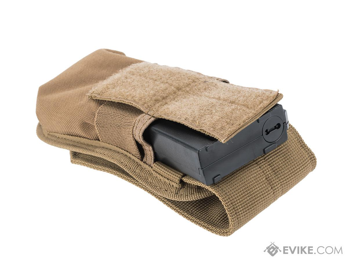 Condor MOLLE M4 Buttstock Magazine Pouch (Color: Tan)