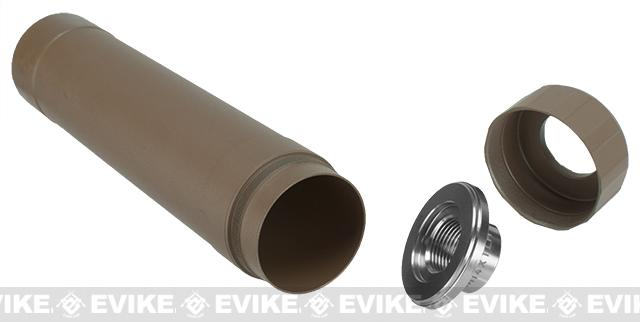 z Crusader Airsoft TR455 Mock Suppressor - Tan