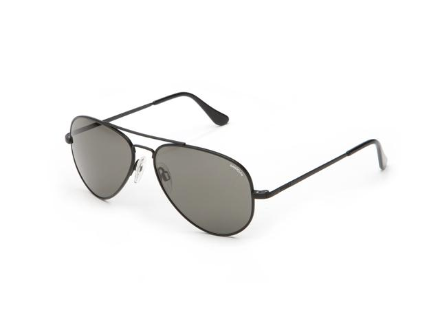 Randolph Concorde 61mm Black Frame Skull Gray Polarized Lens