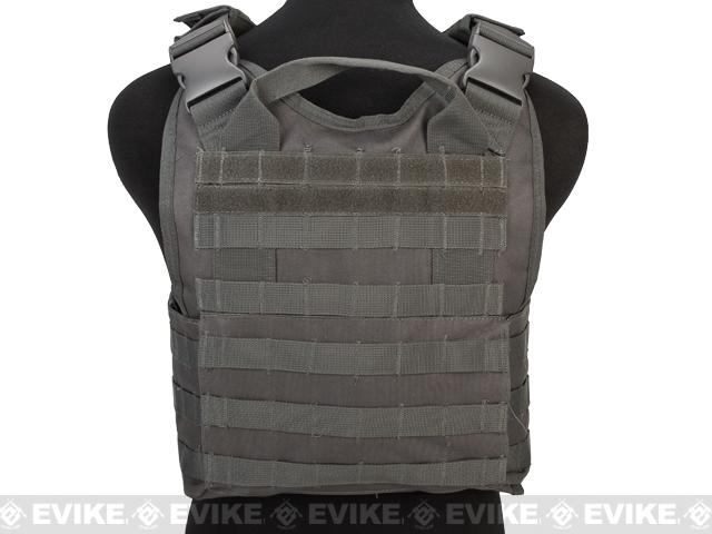 VISM / NcStar Tactical Plate Carrier - Urban Grey