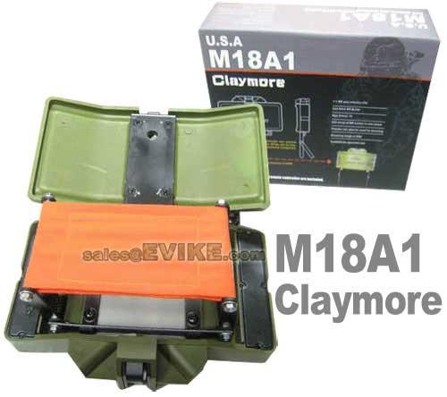 Airsoft M18A1 Claymore with Wireless Remote Control