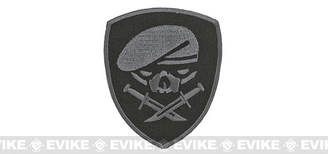 Embroidered Tactical Hook & Loop Patch - Menace of Horror - SWAT