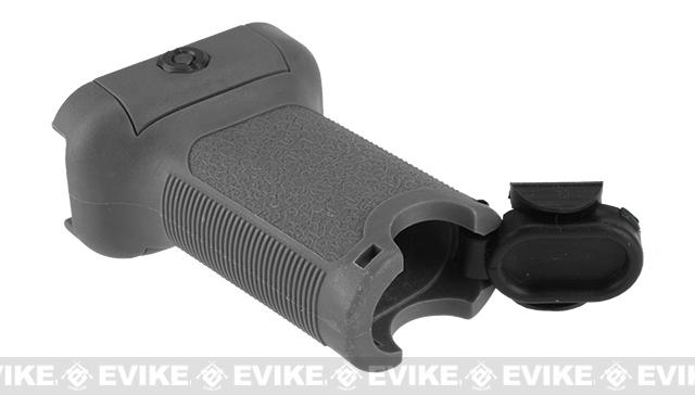 Dytac Ergonomic Vertical Grip For Airsoft AEG & GBB - Midnight Gray