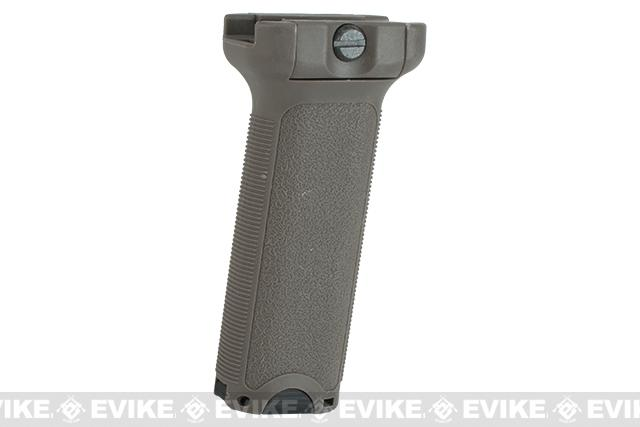 Dytac Ergonomic Vertical Grip - Long (Color: Dark Earth)
