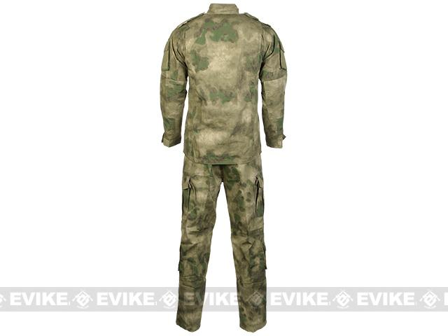 z Arid Foliage R6 Field BDU Battle Uniform Set by TMC / Emerson (Size: Large)