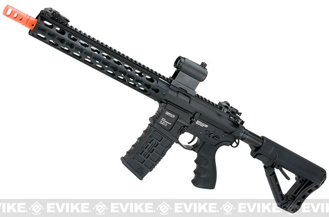 G&G GC16 Warthog Full Metal Airsoft AEG Rifle with 12 Keymod Rail - Black (Package: Gun Only)