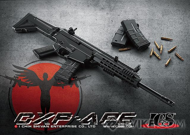 ICS Pro Line CXP-APE Carbine Electric Blowback Airsoft AEG Rifle - Two Tone