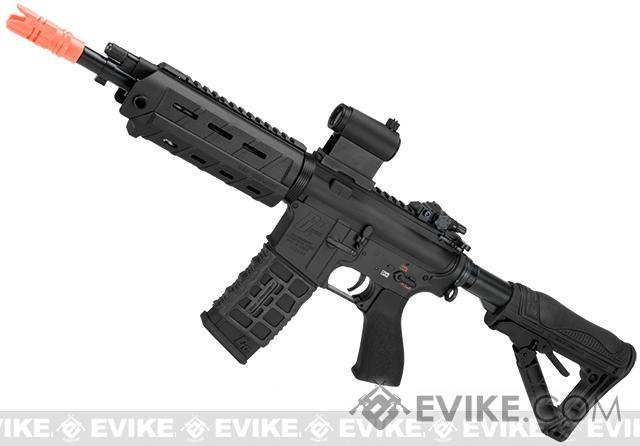 G&G GCR4 G26 Full Metal Airsoft Electric AEG Rifle (Package: Black / Add 9.6 Butterfly Battery + Smart Charger)
