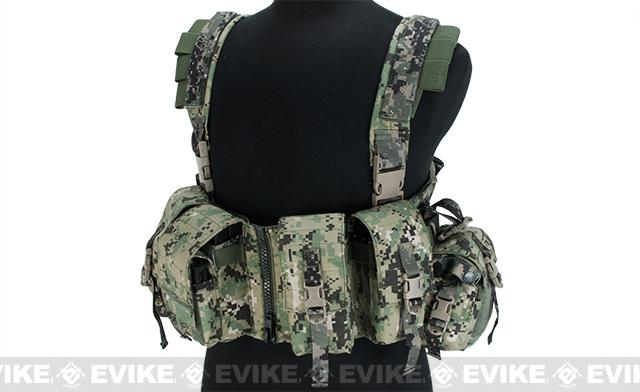 Matrix Special Forces High Speed Chest Rig - Digital Woodland