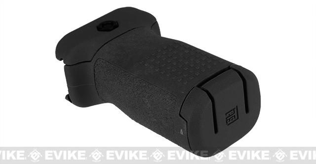 PTS Enhanced Polymer Foregrip-Short (EPF-S) Vertical Grip for Airsoft Hand Guards - Black