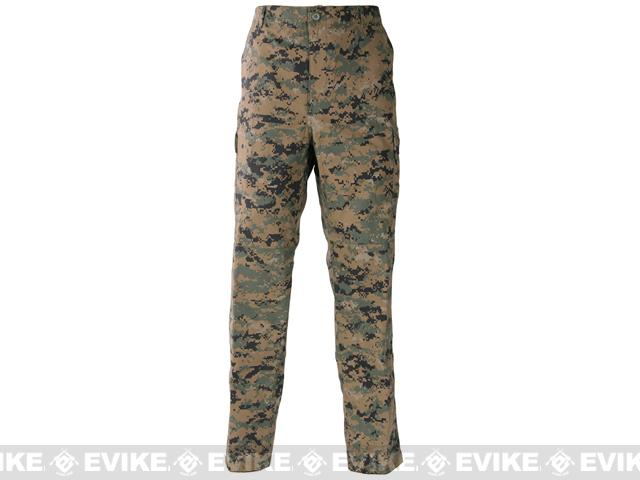 Genuine Gear BDU Trouser - Digital Woodland (Size: Small)