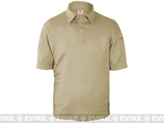 PROPPER ICE� Men's Performance Polo - Silver Tan - Size: L