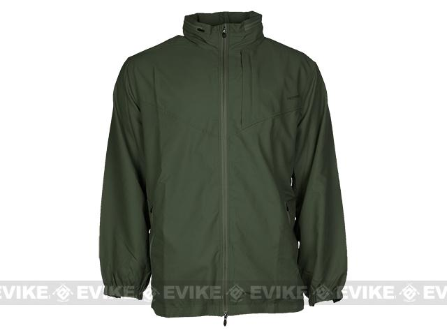 PROPPER™ Packable Full Zip Windshirt - Olive (Size: Medium)