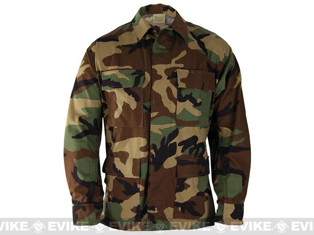 PROPPER™ BDU Coat - Woodland (Size: Large)