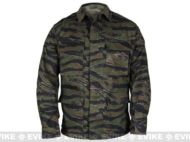 Genuine Gear™ by PROPPER™ BDU Coat - Tiger Stripe (Size: X-Large)