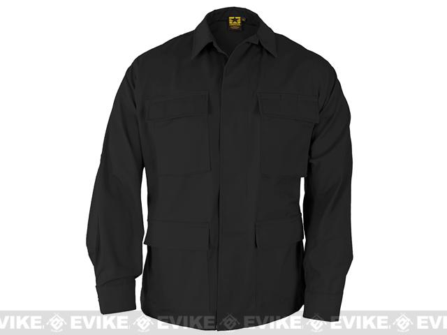 PROPPER™ BDU Coat - Black (Size: Large)