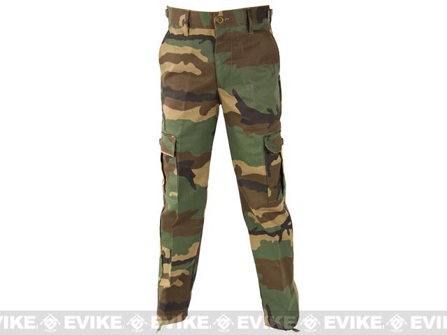 z Propper Kid's BDU Trouser - Woodland - Size 4
