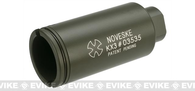 Madbull Noveske KX3 14mm Negative Sound Amplifier Flashhider CCW - OD Green
