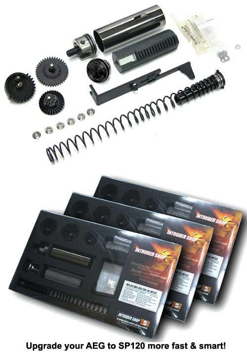 z Guarder SP120 Full Tune-Up Kit for Mod5 / MP5 Series Airsoft AEG