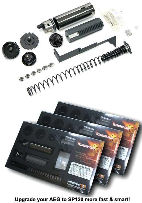 Guarder SP120 Full Tune-Up Kit for P90 / E90 Series Airsoft AEG