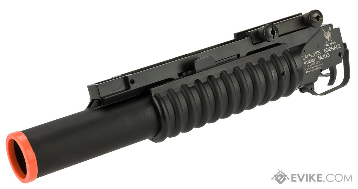 King Arms M203 40mm Airsoft Grenade Launcher - Long