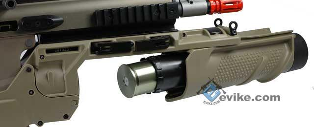 Pre-Order ETA October 2016 EGLM Type 40mm Grenade Launcher For ASC MK16 MK17 Series Airsoft Rifle (Black)