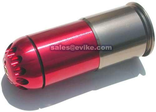 MadBull Airsoft CO2 High Power  Grenade Shell - Red