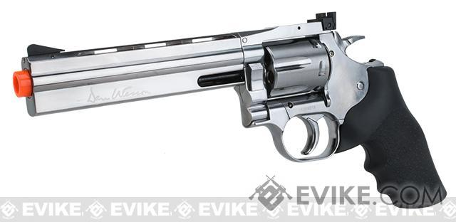 Dan Wesson 715 CO2 Powered Airsoft Revolver - Silver (Full Power Version)