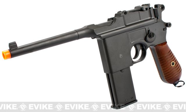 Bone Yard - HFC Full Metal WWII Mauser Airsoft Gas Pistol (Store Display, Non-Working Or Refurbished Models)