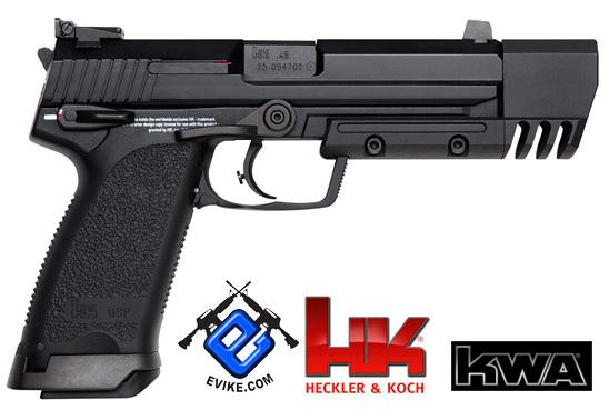 Heckler & Koch / Umarex Full Metal USP Match NS2 Airsoft Gas Blowback Gun by KWA